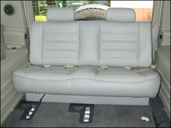 Hummer H2 PLUSH 3rd row rear seat: Hummer Parts Club