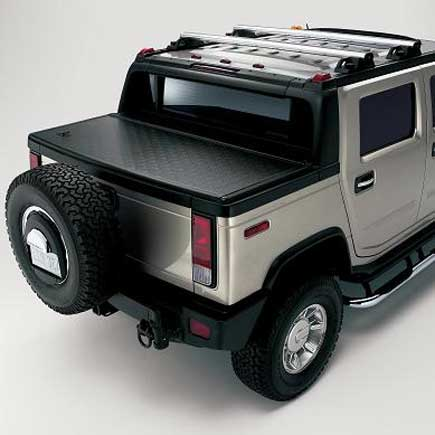 Hummer H2 Locking Tonneau Cover by GM 12499433: Hummer Parts Club