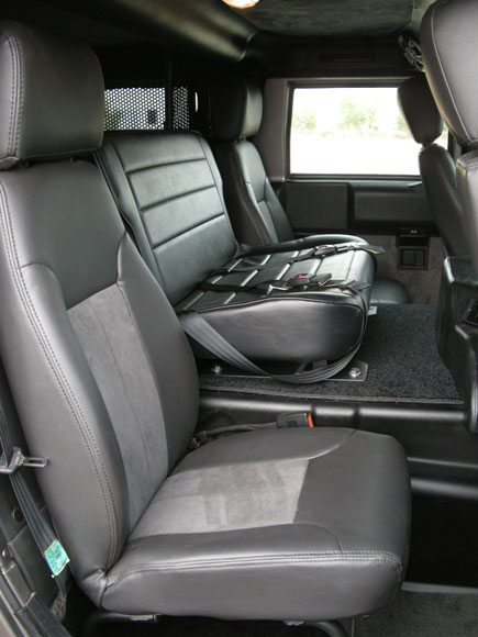 Predator Motorsports Hummer H1 Center Console Seat Hummer Parts Club