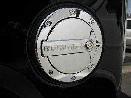 Defenderworx Hummer H2 Amp Sut Billet Chrome Hummer Logo