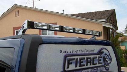 Fierce hummer h3 roof top rear light bar hummer parts club fierce hummer h3 roof top rear light bar aloadofball Images