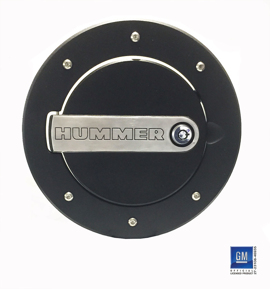 2003 Hummer H1 Interior: DefenderWorx 06-10 Hummer H3, H3T LOCKING FUEL DOOR