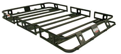 defender rack hummer h3 bolt together roof rack black. Black Bedroom Furniture Sets. Home Design Ideas