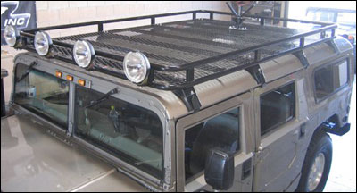 Predator Motorsports Hummer H1 Safari Roof Rack Hummer